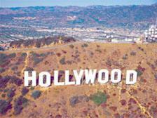 Вид на Голливуд
